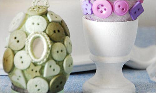 Идеи украшения пасхальных яиц