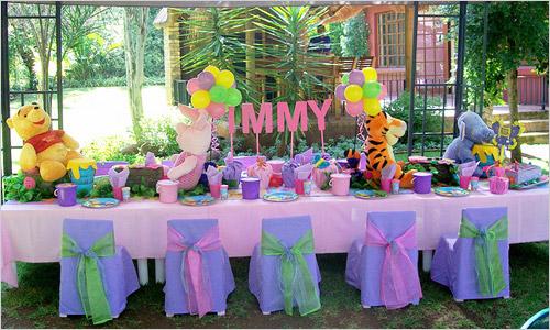 Украшение стола на детский день рождения своими руками