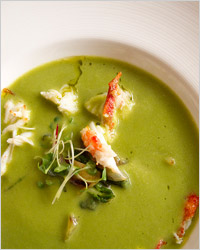 суп с раками