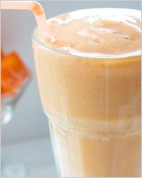 «Молочно-морковный» коктейль