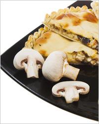 Начинка из шампиньонов с сыром и сладким перцем