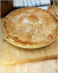 Дешевый яблочный пирог