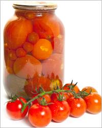 Заготовки из помидор.