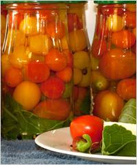 Помидоры «Вологодские». Заготовки на зиму из помидор.