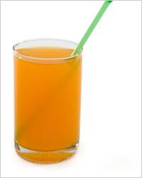 Тыквенный сок с лимоном и сахаром