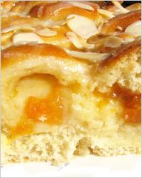 Мадьярский пирог с творогом и абрикосами