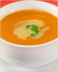суп-пюре из тыквы по французскому рецепту