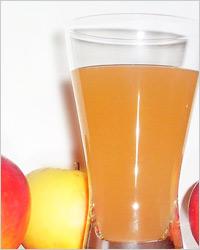 Яблочный сок без сахара