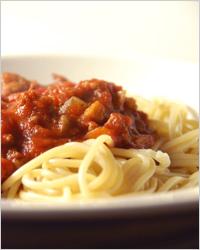 вкусный томатный соус с мясным фаршем