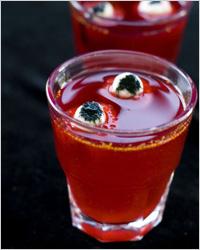 рецепты алкогольных коктейлей на хэллоуин