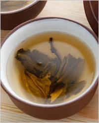 Зелёный чай и настои трав