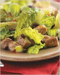 китайский салат со свининой