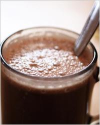 Горячий шоколад с кокосовым молоком
