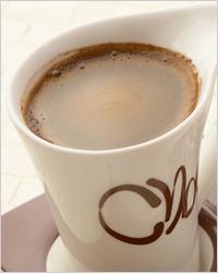 Кофе латте с шоколадом