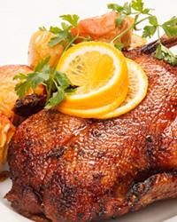 Томатный гусь с овсяной крупой – кулинарный рецепт