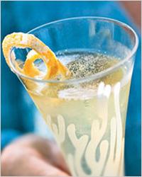 Жгутики из лимонной корки