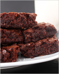 """Брауни """"С Новым Годом"""" – кулинарный рецепт"""