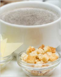 Молочный суп с морепродуктами рецепты