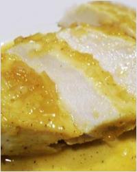 Закуска из куриной грудки с апельсиновым соусом