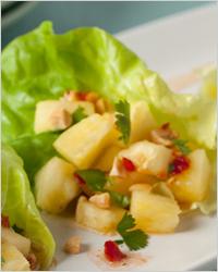 тайская закуска из ананасов