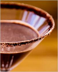 Шоколадный чили-мартини