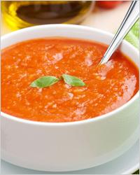Томатный суп-крем «От Василия» (рецепт из знаменитого французского ресторана La Madeleine)