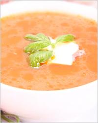 Морковный суп-крем