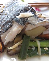 Рыба «на пару» по-русски