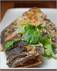 Камбала, фаршированная крабовым мясом