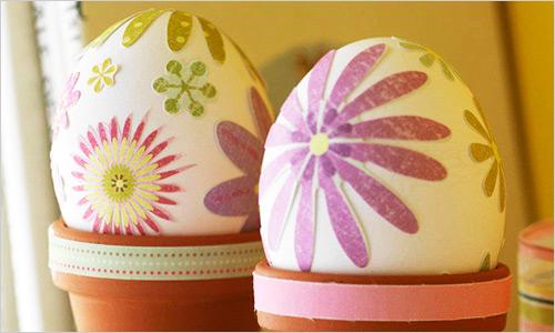 Украшениепасхальных яиц: новые идеи