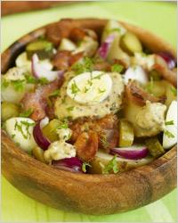 Тёплый салат