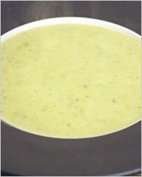 Немецкий молочный суп с черемшой