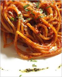 Спагетти водка