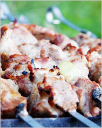 Как приготовить шашлык из свинины