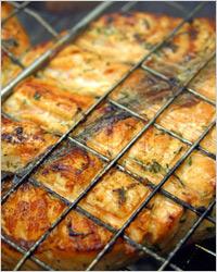 приготовления вкуснейшего лосося на гриле с лимонным маслом