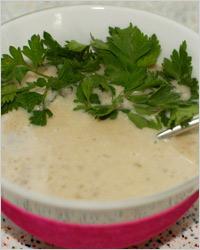 Суп-крем из печени