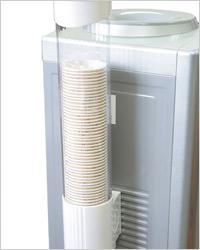 держатель для «стопки» пластиковых стаканов