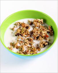 Завтрак по-американски (гранола)