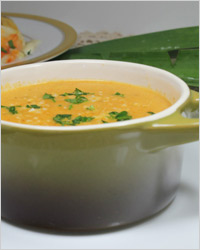 Индийский овощной суп