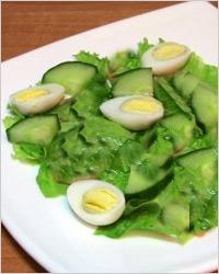 Восточный зелёный салат