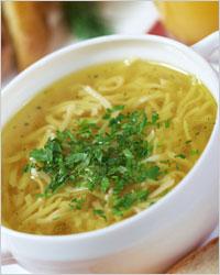 Вермишелевый суп с курицей фото