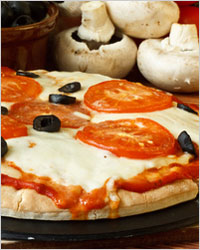 Римская пицца Лазио