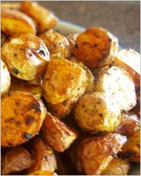 Запечённый картофель в горчице