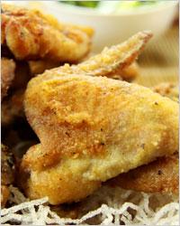 закуска из куриных крылышек приготовленных в пиве
