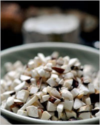 Корзиночки с белыми грибами
