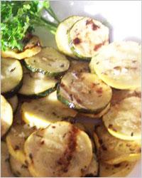 Заготовки из кабачков в лимонном масле