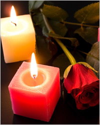 маленькие свечи