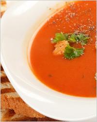суп из тыквы и помидоров