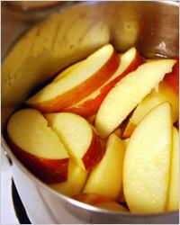 Компот из яблок на зиму