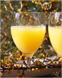 Облепиховый сок без сахара